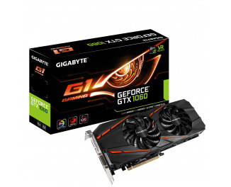 Видеокарта Gigabyte GeForce GTX 1060 G1 Gaming 6G (GV-N1060G1 GAMING-6GD) memory Samsung