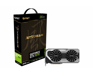 Видеокарта Palit GeForce GTX 1070 JetStream (NE51070015P2-1041J)