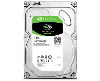 Жесткий диск 2000Gb Seagate BarraCuda (ST2000DM006)