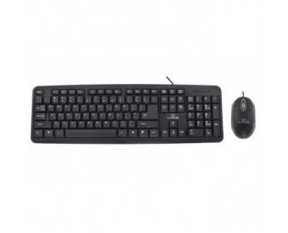 Клавиатура и мышь Esperanza TK106 Black USB