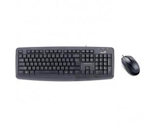 Клавиатура и мышь Genius КМ-130 USB Ukr