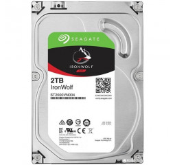 Жесткий диск 2000Gb Seagate IronWolf (ST2000VN004)