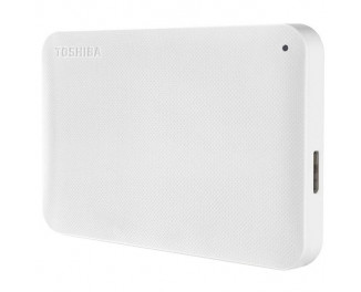Внешний жесткий диск 1000Gb Toshiba Canvio Ready White (HDTP210EW3AA)