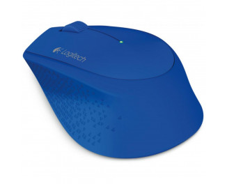 Мышь беспроводная Logitech M330 Silent Plus Blue (910-004910)