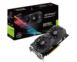 Видеокарта ASUS GeForce GTX 1050 Ti ROG Strix OC edition 4GB (STRIX-GTX1050TI-O4G-GAMING)