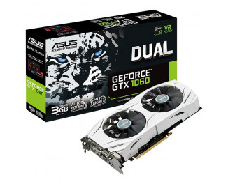 Видеокарта ASUS GeForce GTX 1060 Dual 3GB (DUAL-GTX1060-3G)