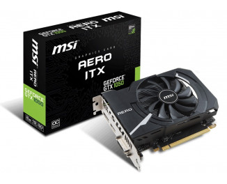 Видеокарта MSI GeForce GTX 1050 (GTX 1050 2G OC)