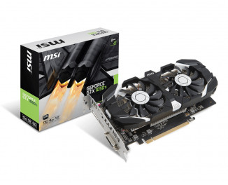 Видеокарта MSI GeForce GTX 1050 Ti 4GT OCV1