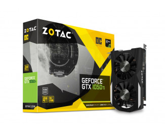 Видеокарта ZOTAC GeForce GTX 1050 Ti OC Edition (ZT-P10510B-10L)