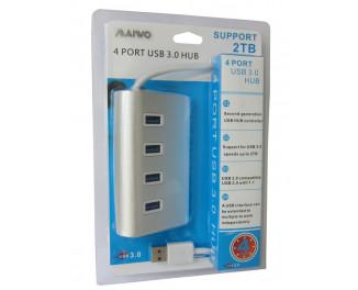 USB Hub Maiwo KH001 (4 порта USB 3.0)