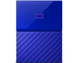 Внешний жесткий диск 1000Gb WD My Passport Blue (WDBYNN0010BBL)