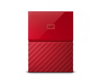 Внешний жесткий диск 1000Gb WD My Passport Red (WDBYNN0010BRD)