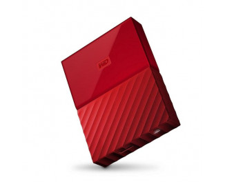 Внешний жесткий диск 4000Gb WD My Passport USB 3.0 External Red (WDBYFT0040BRD)