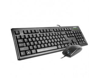 Клавиатура и мышь A4Tech KM-72620D Black USB