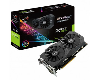 Видеокарта ASUS GeForce GTX 1050 Ti ROG Strix 4GB (STRIX-GTX1050TI-4G-GAMING)