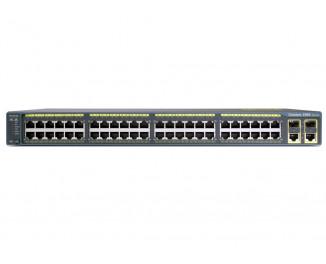Коммутатор Cisco Catalyst 2960 Plus (WS-C2960+48PST-S)