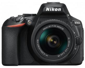 Зеркальный фотоаппарат Nikon D5600 (KIT 18-55 VR)