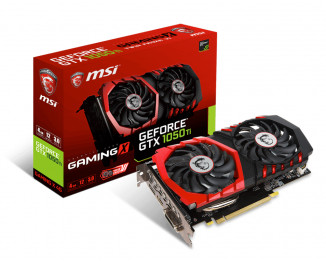 Видеокарта MSI GeForce GTX 1050 Ti (GTX 1050 Ti GAMING 4G)