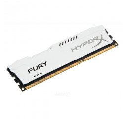 Оперативная память DDR3 4 Gb (1600 MHz) Kingston HyperX Fury White (HX316C10FW/4)