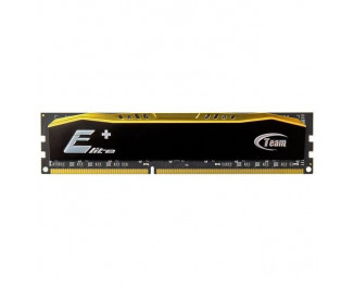 Оперативная память DDR3 8 Gb (1600 MHz) Team Elite Plus Black (TPD38G1600HC1101)
