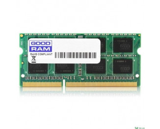 Память для ноутбука SO-DIMM DDR3 4 Gb (1600 MHz) GOODRAM (GR1600S364L11S/4G)