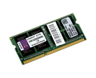 Память для ноутбука SO-DIMM DDR3 8 Gb (1333 MHz) Kingston (KVR1333D3S9/8G)