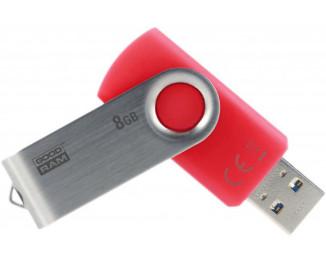 Флешка USB 3.1 8Gb GOODRAM UTS3 Twister Red (UTS3-0080R0R11)