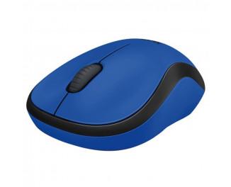 Мышь беспроводная Logitech M220 Silent Blue (910-004879)