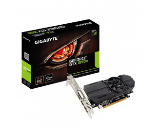 Видеокарта Gigabyte GeForce GTX 1050 Ti OC Low Profile 4G (GV-N105TOC-4GL)