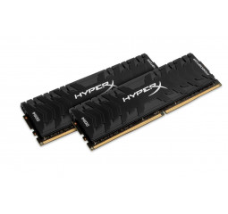 Оперативная память DDR4 16 Gb (3000 MHz) (Kit 8 Gb x 2) Kingston HyperX Predator Black (HX430C15PB3K2/16)