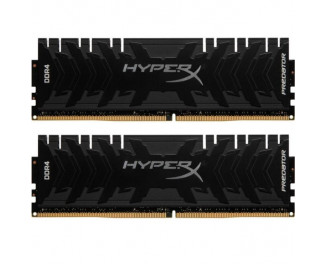 Оперативная память DDR4 16 Gb (3333 MHz) (Kit 8 Gb x 2) Kingston HyperX Predator Black (HX433C16PB3K2/16)