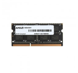 Память для ноутбука SO-DIMM DDR3 4 Gb (1600 MHz) AMD R5 Entertainment Series (R534G1601S1SL-U)