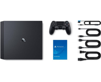 Приставка Sony Playstation 4 Pro 1Tb Black