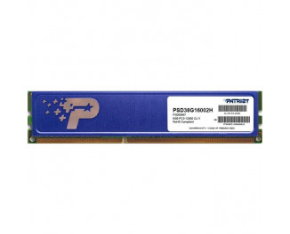 Оперативная память DDR3 8 Gb (1600 MHz) Patriot Signature Line (PSD38G16002H)