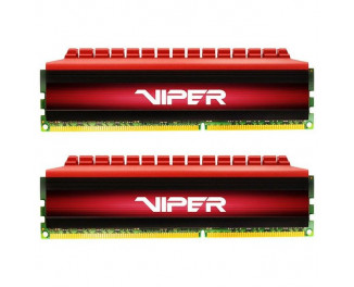 Оперативная память DDR4 32 Gb (3200 MHz) (Kit 16 Gb x 2) Patriot Viper 4 Red (PV432G320C6K)