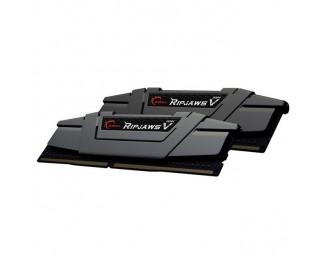 Оперативная память DDR4 16 Gb (3000 MHz) (Kit 8 Gb x 2) G.SKILL Ripjaws V Black (F4-3000C15D-16GVKB)