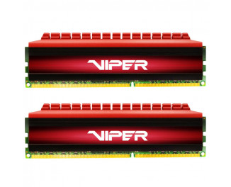 Оперативная память DDR4 16 Gb (3400 MHz) (Kit 8 Gb x 2) Patriot PE-V4 RED DUAL (PV416G340C6K)