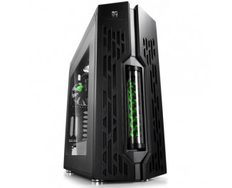 Корпус Deepcool GENOME Middletower с СВО(3 Pвент) (Genome II Green)