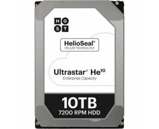 Жесткий диск для сервера 10000Gb Hitachi HGST Ultrastar He10 (0F27354 / HUH721010AL5204)