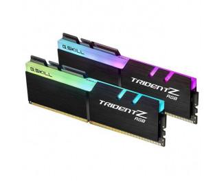 Оперативная память DDR4 16 Gb (3200 MHz) (Kit 8 Gb x 2) G.SKILL Trident Z RGB (F4-3200C16D-16GTZR)