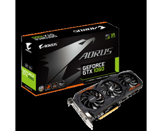 Видеокарта Gigabyte GeForce GTX 1060 6G (GV-N1060AORUS-6GD) (rev. 1.0)