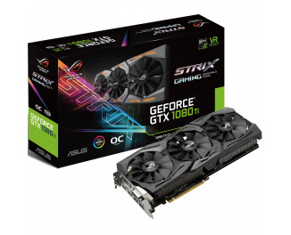 Видеокарта ASUS GeForce GTX 1080 Ti OC Edition (ROG-STRIX-GTX1080TI-O11G-GAMING)