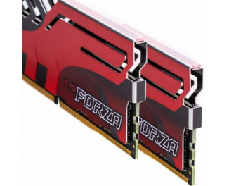 Оперативная память DDR4 32 Gb (2400 MHz) (Kit 16 Gb x 2) FORZA Red Geil (GFR432GB2400C16DC)