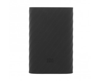 Чехол силиконовый для Xiaomi Mi Pro power bank 10000mAh Black (PDD4081CN)