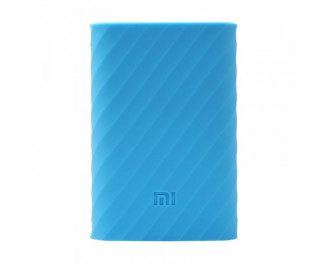 Чехол силиконовый для Xiaomi Mi Pro power bank 10000mAh Blue (PDD4077CN)