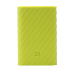 Чехол силиконовый для Xiaomi Mi Pro power bank 10000mAh Green (PDD4079CN)