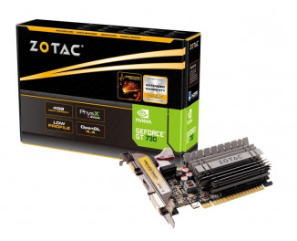 Видеокарта ZOTAC GeForce GT 730 4GB Zone Edition (ZT-71115-20L)