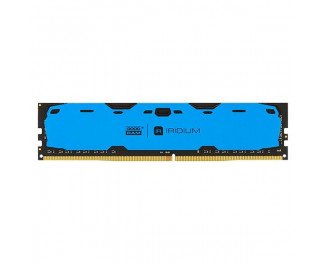 Оперативная память DDR4 8 Gb (2400 MHz) GOODRAM Iridium Blue (IR-B2400D464L15S/8G)