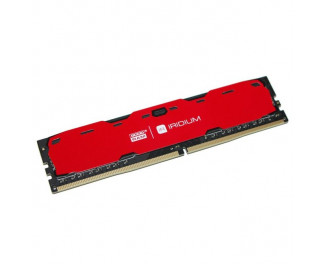 Оперативная память DDR4 8 Gb (2400 MHz) GOODRAM Iridium Red (IR-R2400D464L15S/8G)