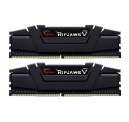 Оперативная память DDR4 16 Gb (3200 MHz) (Kit 8 Gb x 2) G.SKILL Ripjaws V (F4-3200C14D-16GVK)
